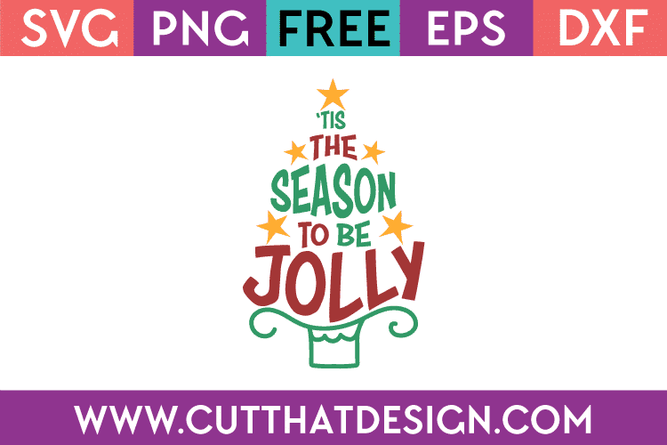 Free SVG Christmas Jolly