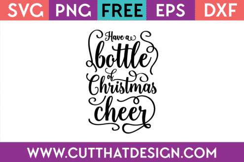 Free SVG Christmas Cheer