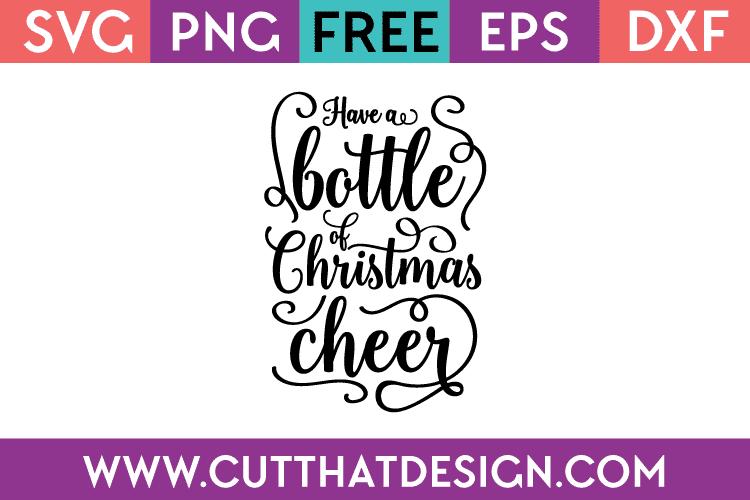 Free SVG Christmas Cheer