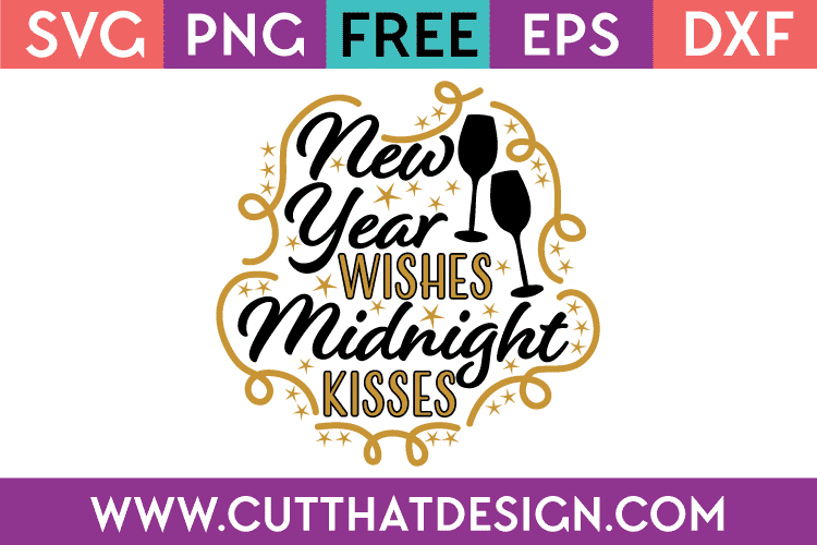 Free SVG New Year