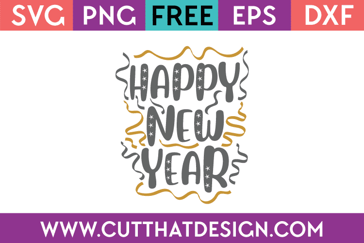 Free Happy New Year SVG