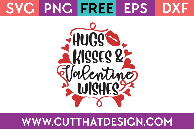 Free Valentines SVG Files
