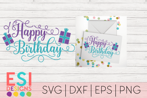 Birthday SVG Files