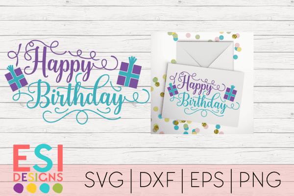 Birthday SVG Files