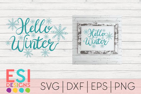 Winter SVG