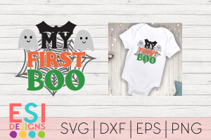 SVG Files Halloween First Boo
