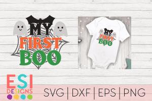 SVG Files Halloween First Boo