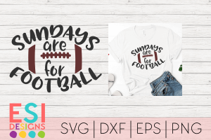 Football SVG Files Cricut and Silhouette