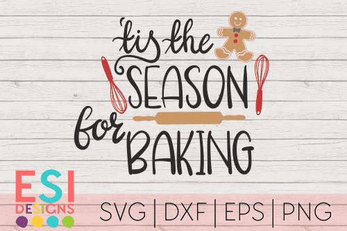 SVG tis the season for Baking