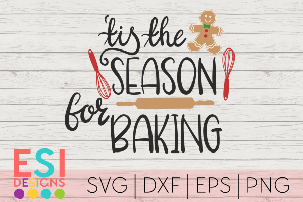 SVG tis the season for Baking