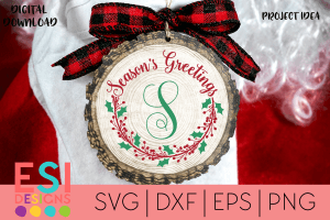 Christmas SVG Cutting Files Frame