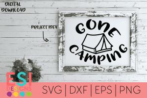 SVG Files Camping