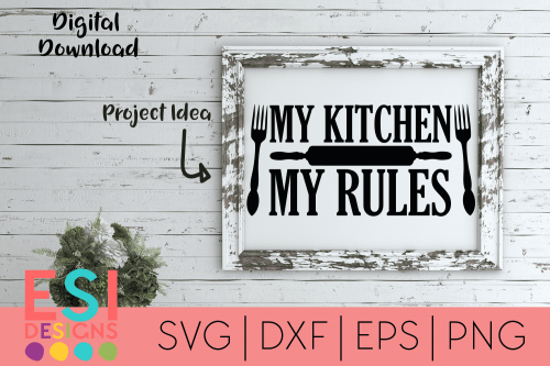 Kitchen SVG Files