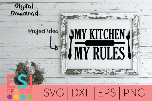 Kitchen SVG Files