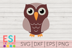 Owl SVG Cutting File