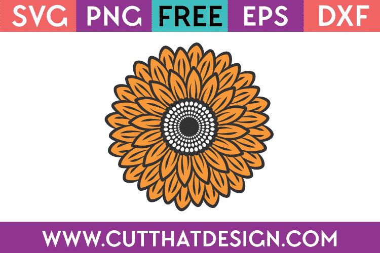 Free SVG Sunflower