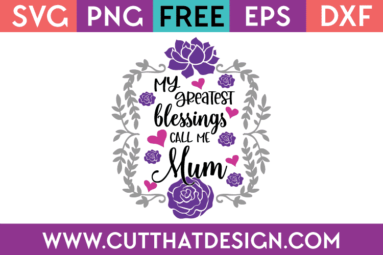 Free SVG Mother's Day