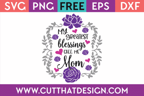 Free Mom SVG Files
