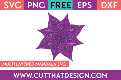Free 3D SVG Flower