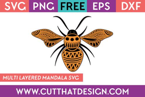 Free Bee SVG