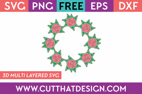 Free SVG Files Rose