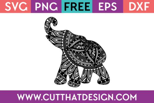 Free SVG Elephant