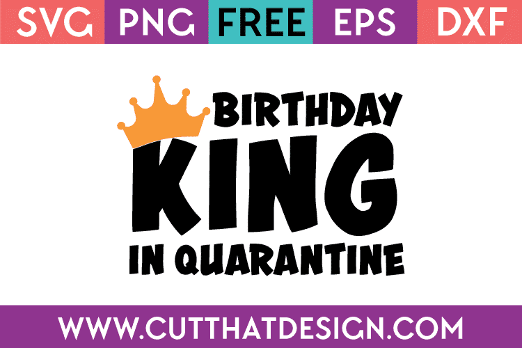 Free Birthday SVG Files