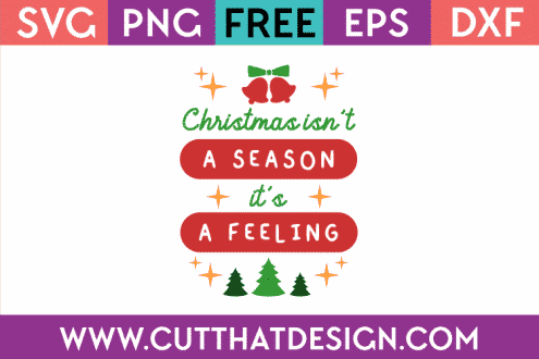 Free Christmas SVG file