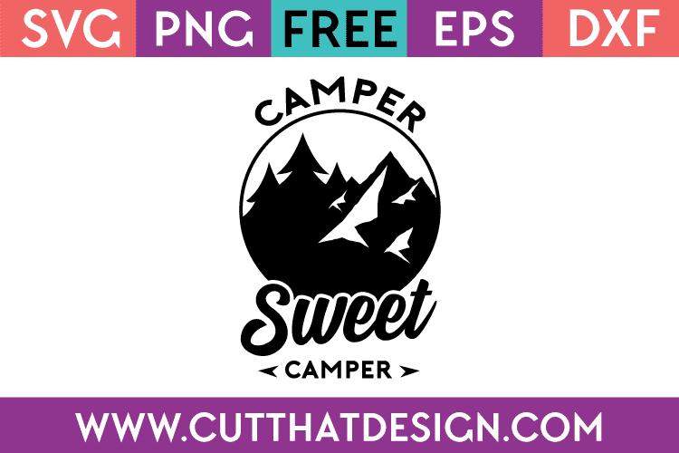 free camping svg