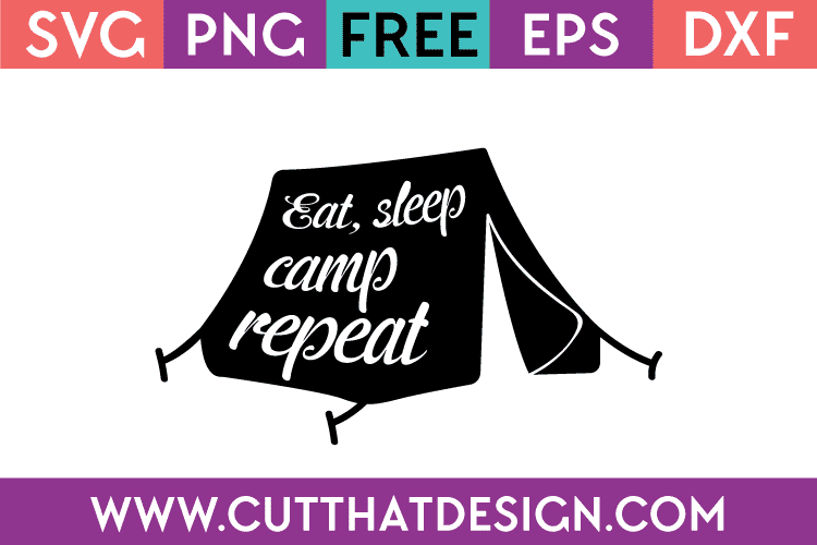 Free camping svg designs