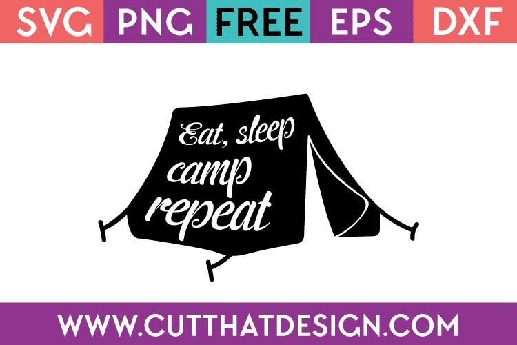 Free camping svg designs