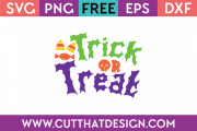 Free trick or treat svg