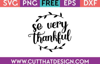 free thanksgiving svg cut files