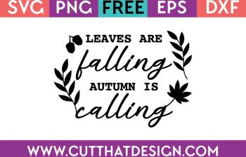 free autumn svg files