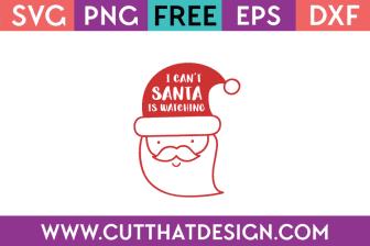 Free Christmas SVG Cut Files