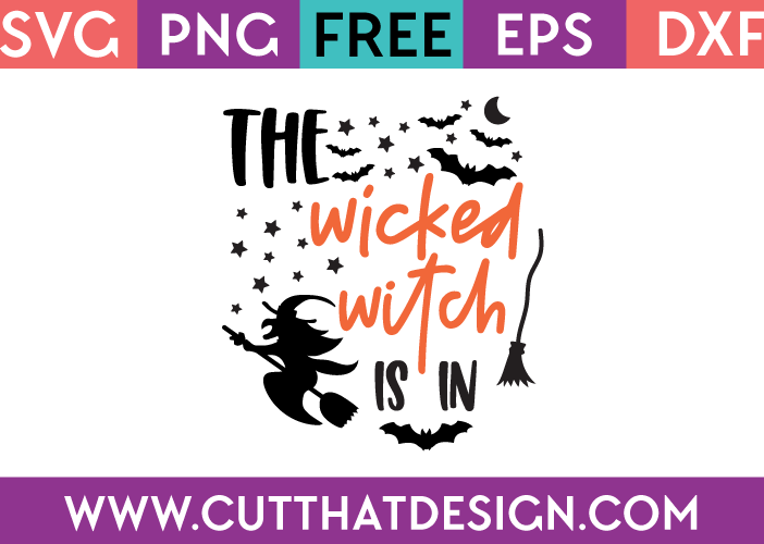 Free Halloween SVG Files Wicked Witch