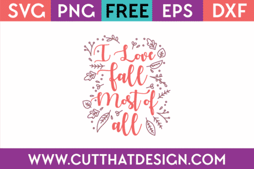 Free SVG Autumn Fall