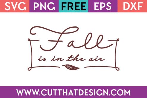 Free SVG Files Fall