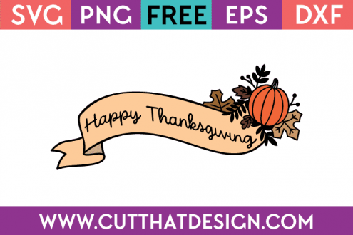 Free SVG Files Thanksgiving