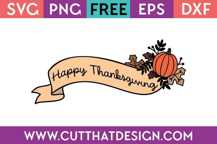 Free SVG Files Thanksgiving