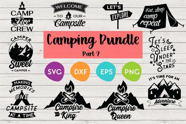 Camping SVG Bundles
