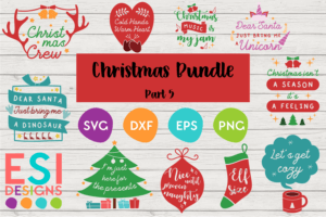 Christmas SVG Bundles