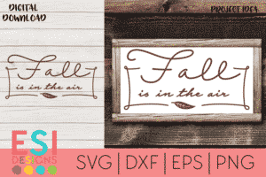 SVG Cut Files Fall
