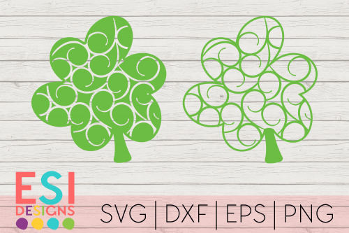 Shamrock SVG Design