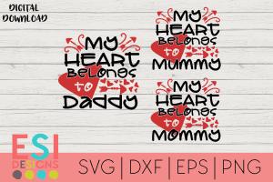 Valentines SVG Cutting Files