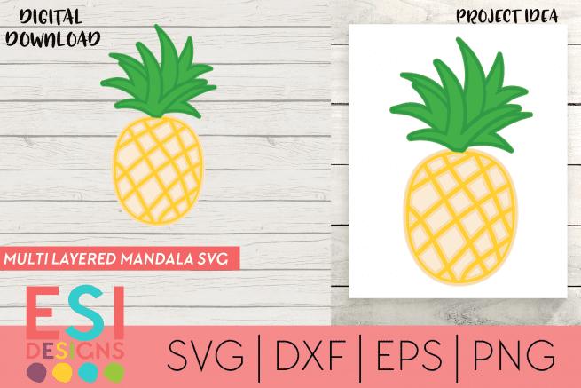 Pineapple SVG File