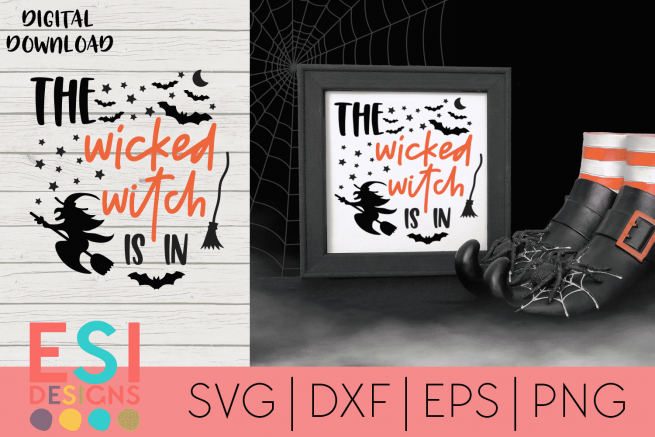 Wicked Witch SVG