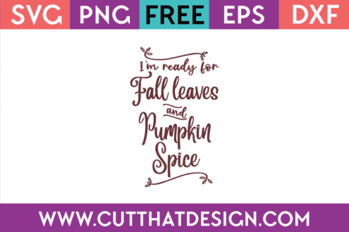 Free Fall SVG Files