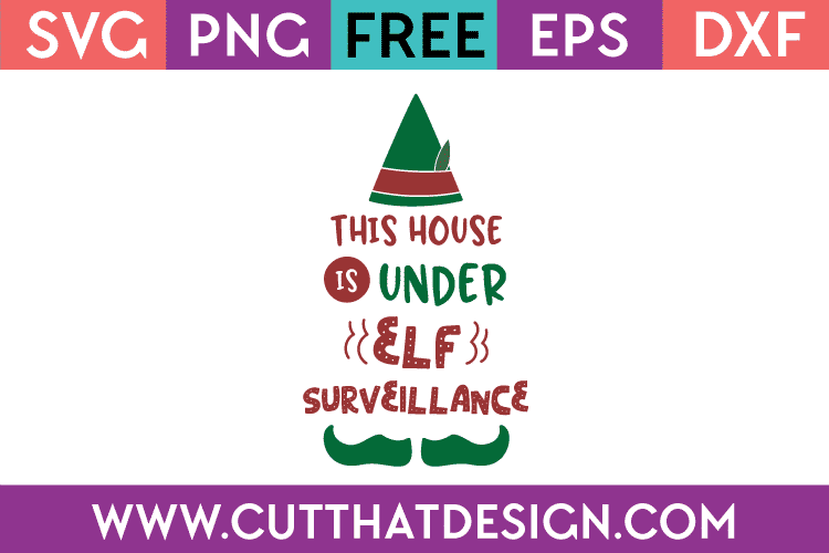 Free Christmas SVG Cut Files