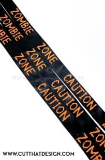 Halloween Banner Silhouette Cameo